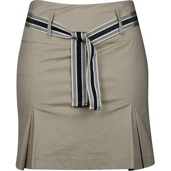 Golftini Pleated with Ribbon Belt Skort Regular Apparel
