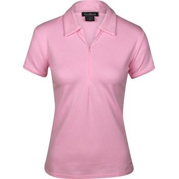 Golftini Zip Shirt Polo Short Sleeve Apparel
