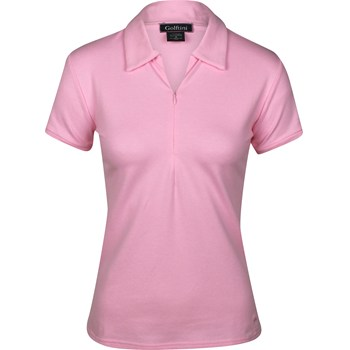 Golftini Zip Shirt Polo Short Sleeve Apparel