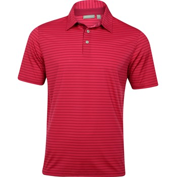 Ashworth EZ-TEC2 Performance EZ-SOF Pencil Stripe Shirt Polo Short Sleeve Apparel