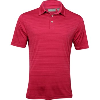 Ashworth EZ-TEC2 Performance Interlock Melange Shirt Polo Short Sleeve Apparel