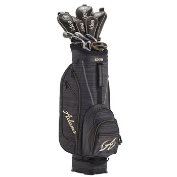 Adams Idea Black/Gold Club Set Preowned Golf Club