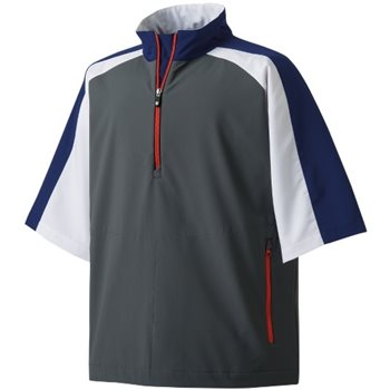 FootJoy Sport Windshirt Short Sleeve Outerwear Pullover Apparel