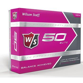 Wilson Fifty Elite Pink Golf Ball Balls