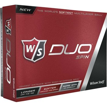 Wilson Duo Spin Golf Ball Balls