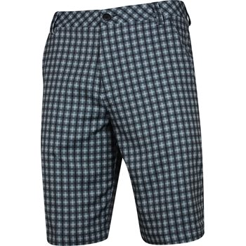 Puma GT Plaid Tech Shorts Flat Front Apparel