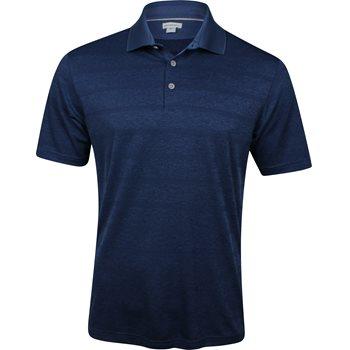 Ashworth Plaited Stripe Shirt Polo Short Sleeve Apparel