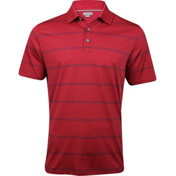 Ashworth EZ-SOF Stripe Shirt Polo Short Sleeve Apparel