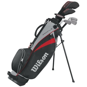 Wilson Profile Junior Small Red Club Set Golf Club