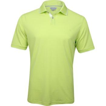 Ashworth EZ-SOF Pique Solid Shirt Polo Short Sleeve Apparel