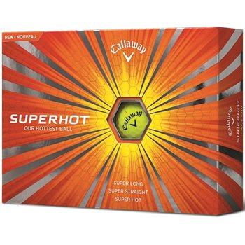 Callaway Super Hot Yellow Golf Ball Balls