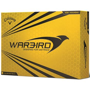 Callaway Warbird 2015 Yellow Golf Ball Balls
