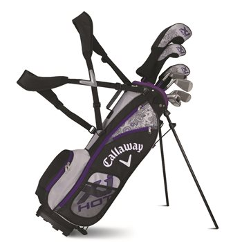 Callaway XJ Hot Girls 5-8 Years Old Club Set Preowned Golf Club