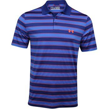 Under Armour UA Shotgun Stripe Shirt Polo Short Sleeve Apparel