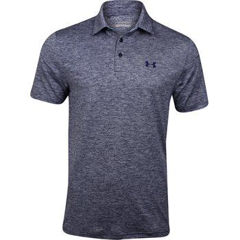 Under Armour UA Elevated Heather 2015 Shirt Polo Short Sleeve Apparel