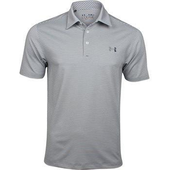 Under Armour UA Kirkby Heathered Stripe Shirt Polo Short Sleeve Apparel