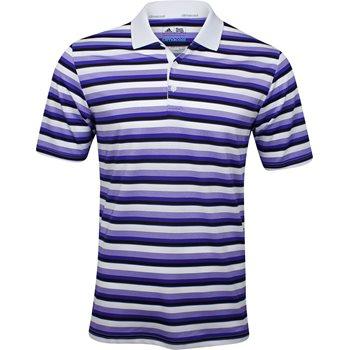 Adidas Climacool Classic Stripe Shirt Polo Short Sleeve Apparel