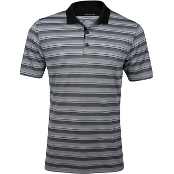 Adidas Climacool Classic Stripe Shirt Polo Short Sleeve Apparel