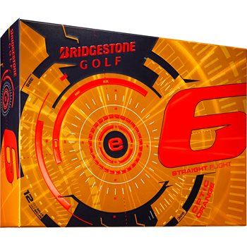 Bridgestone e6 Orange 2015 Golf Ball Balls