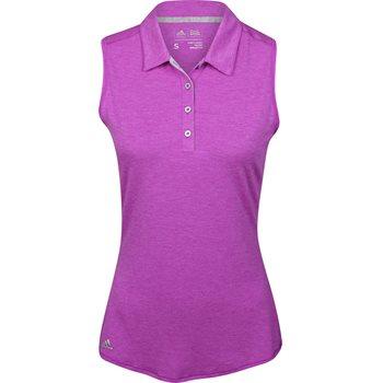 Adidas Essentials Heather Sleeveless Shirt Polo Short Sleeve Apparel