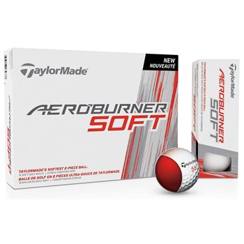 TaylorMade AeroBurner Soft Golf Ball Balls