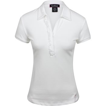 Golftini Short Sleeve Ruffle Shirt Polo Short Sleeve Apparel