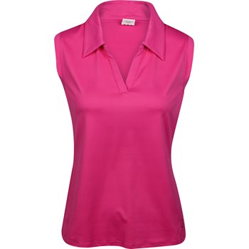 GolfHER Solid Sleeveless Shirt Polo Short Sleeve Apparel