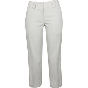 Nike Dri-Fit Stretch Modern Rise Tech Crop Pants Flat Front Apparel
