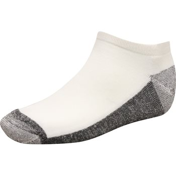 FootJoy ProDry Roll Tab White Socks Ankle Apparel