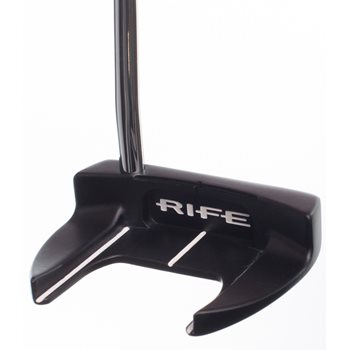 Rife General Satin Black Putter Preowned Golf Club