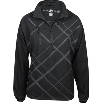Glen Echo Water Repellent Tonal Plaid Outerwear Pullover Apparel