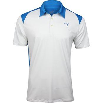 Puma Blocked Polo Shirt Polo Short Sleeve Apparel