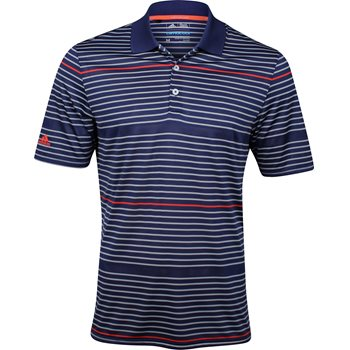 Adidas ClimaCool Classic Merch Stripe Shirt Polo Short Sleeve Apparel