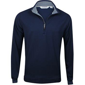 Ashworth Stretch Half-Zip Outerwear Wind Jacket Apparel