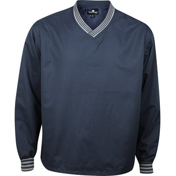 Weather Company V-Neck Windshirt Outerwear Pullover Apparel
