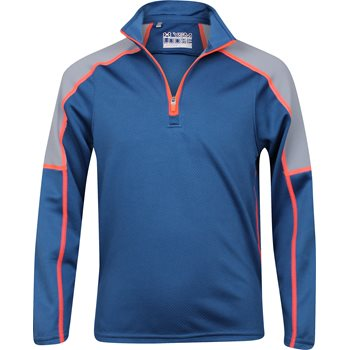 Under Armour UA Youth Proven Colorblock Mock Outerwear Pullover Apparel