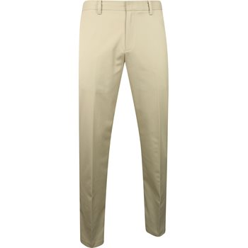 Ashworth Solid Stretch Pants Flat Front Apparel