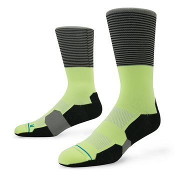 Stance Fusion Scratch Socks Crew Apparel
