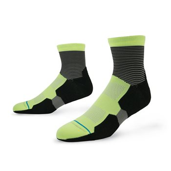 Stance Fusion Scratch QTR Socks Quarter Apparel