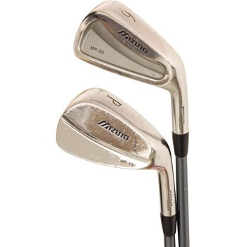 Mizuno MP 30 / MP 33 Combo Iron Set Preowned Golf Club