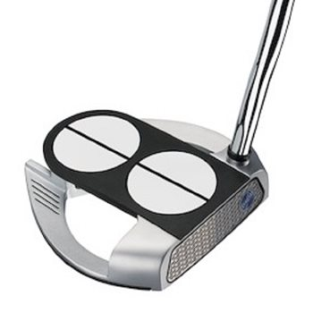 Odyssey Works 2-Ball Fang Versa Lined SuperStroke Putter Preowned Golf Club