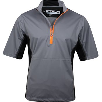 Sun Mountain Stretch Tour Series Short-Sleeve Pullover Rainwear Rain Shirt Apparel