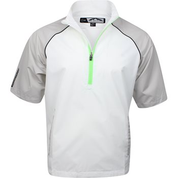 Sun Mountain Stretch Headwind Short-Sleeve Outerwear Pullover Apparel