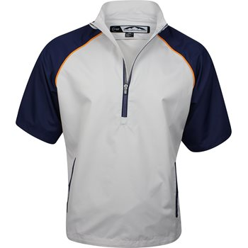 Sun Mountain Stretch Headwind Short-Sleeve Outerwear Pullover Apparel