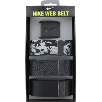 Nike 3 in 1 Camo Web Pack Accessories Belts Apparel