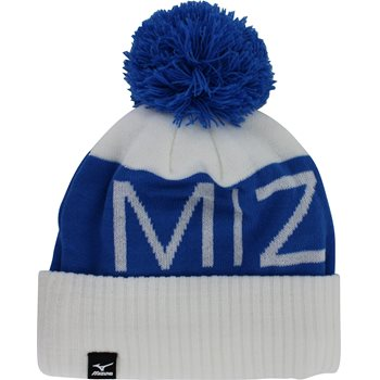 Mizuno Branded Bobble Headwear Knit Hat Apparel