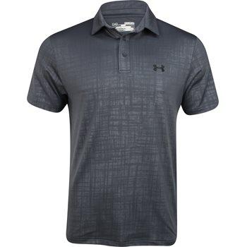 Under Armour UA Scratch Plaid Shirt Polo Short Sleeve Apparel
