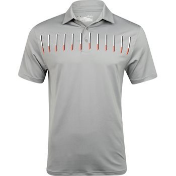 Under Armour UA Defender Print Shirt Polo Short Sleeve Apparel