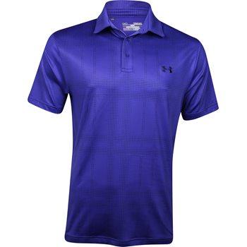 Under Armour UA Coldblack Digi Plaid Shirt Polo Short Sleeve Apparel