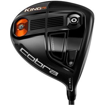 Cobra King F6 Black Driver Preowned Golf Club
